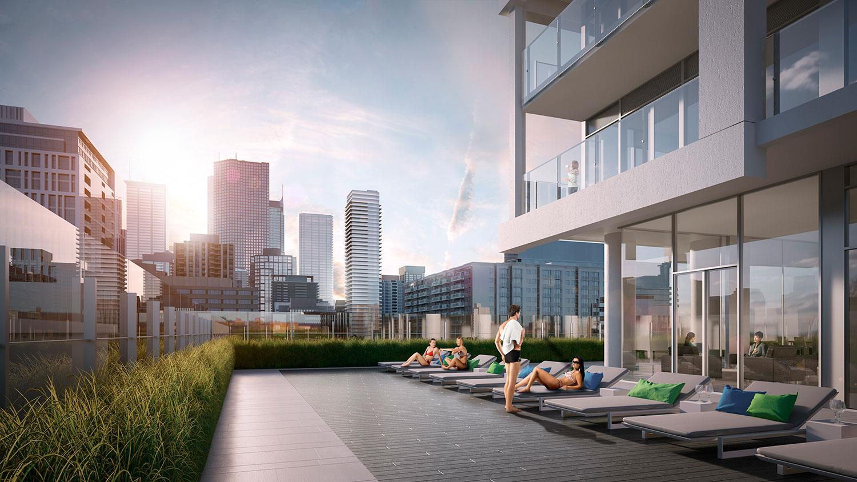 East 55 Condos Terrace, Toronto