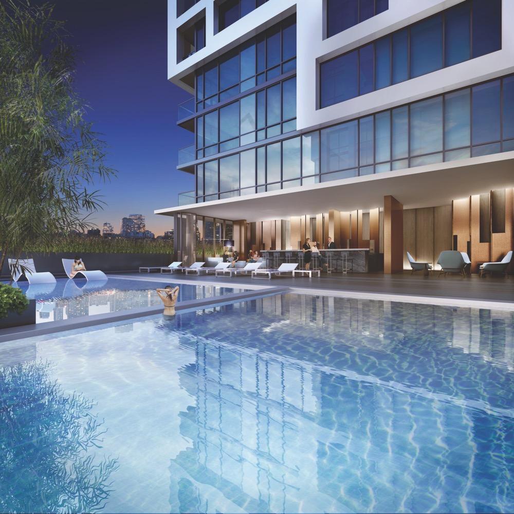 bside-condos pool