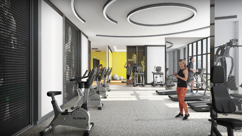 IN.DE Condos Gym, Toronto