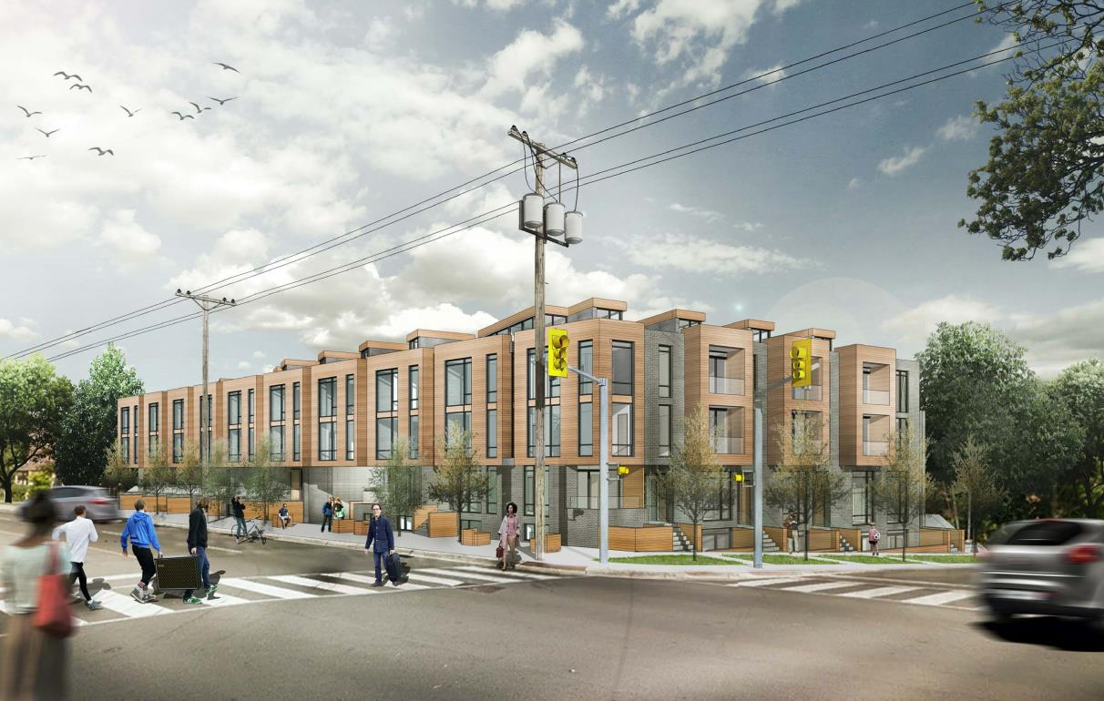 Kingston Road Townhomes