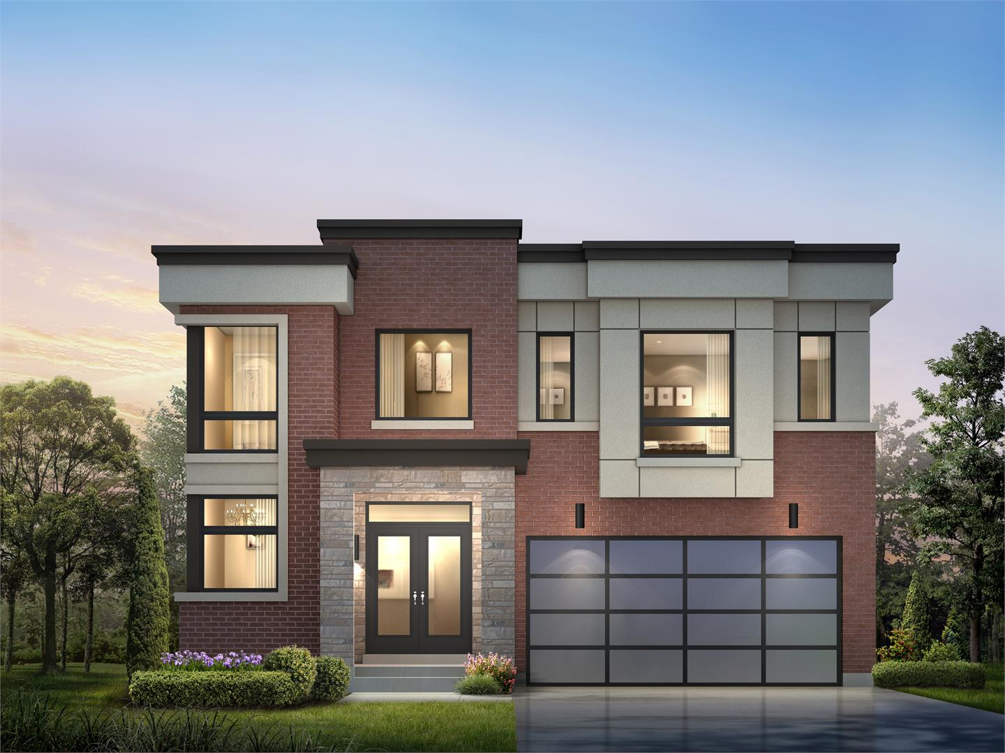 Frenchman s bay towns homes pickering by madison group for New home builders in pickering