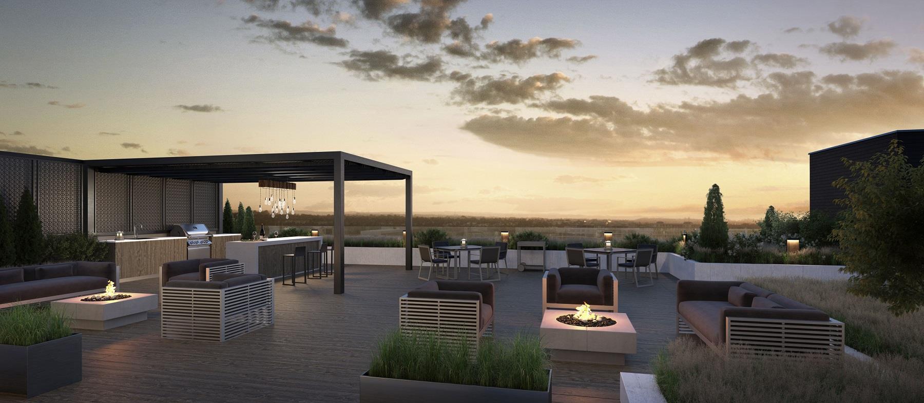 Platinum Condos Rooftop, Hamilton