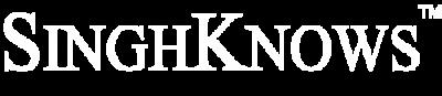 SINGHKNOWS logo