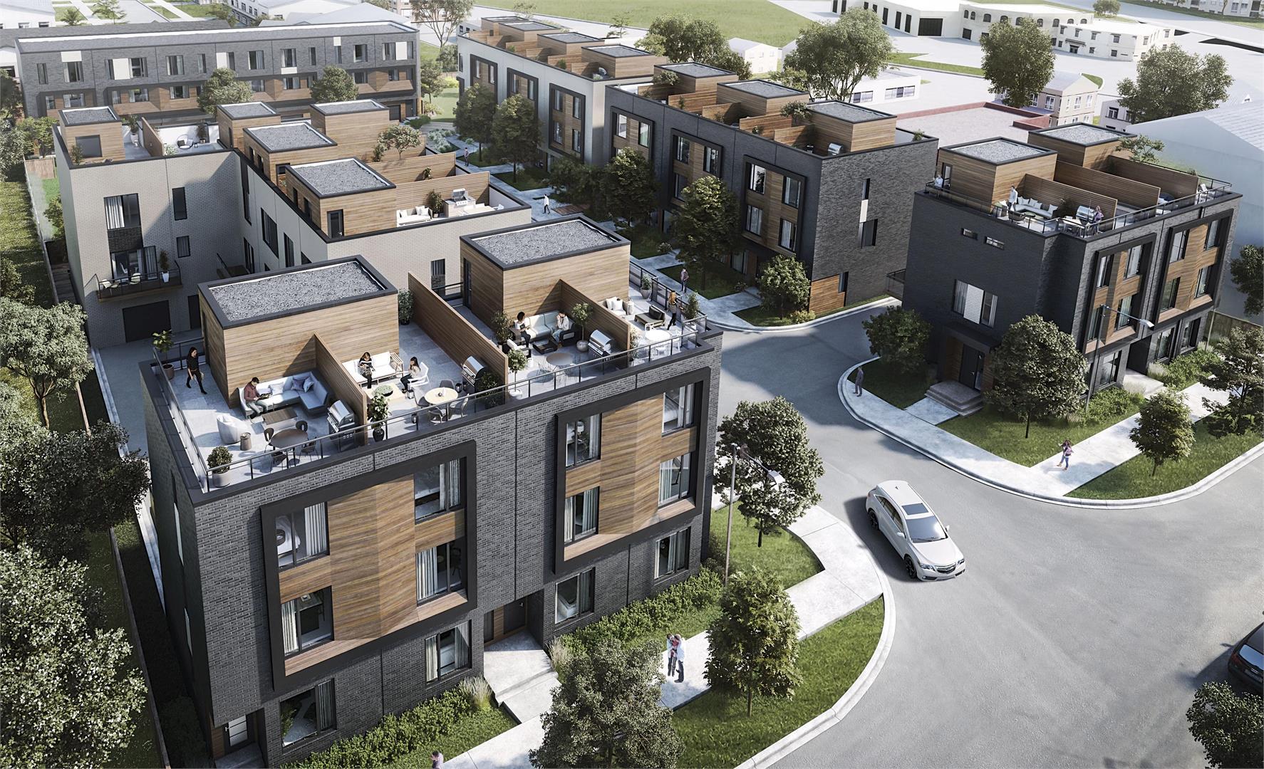 Terraces Eglinton Towns