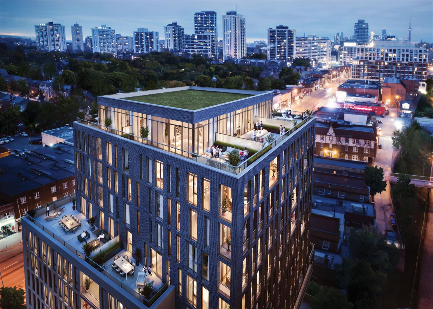 Toronto UOVO Boutique Residences Rendering