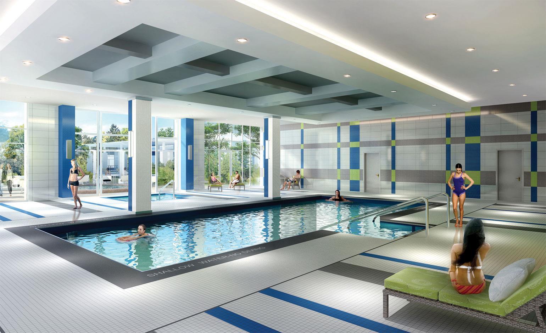 Centro Square Condos Swimming Pool Vaughan