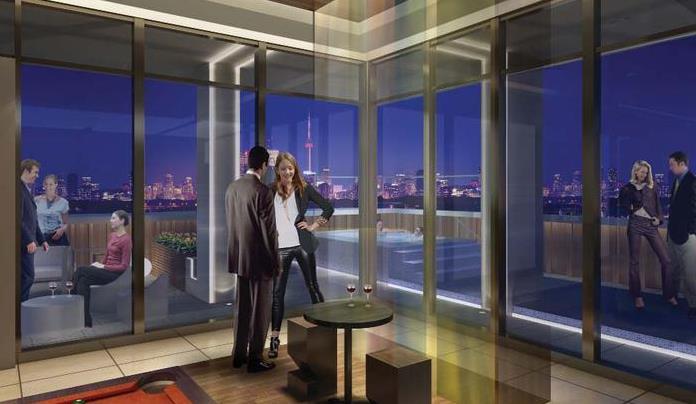 LivLofts Indoor Lounge Toronto