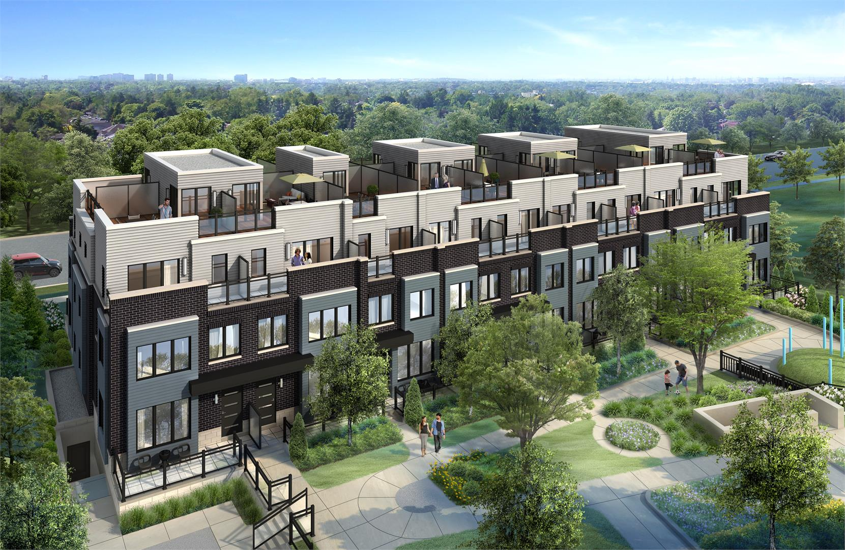 Mississauga Southdown Towns Exterior