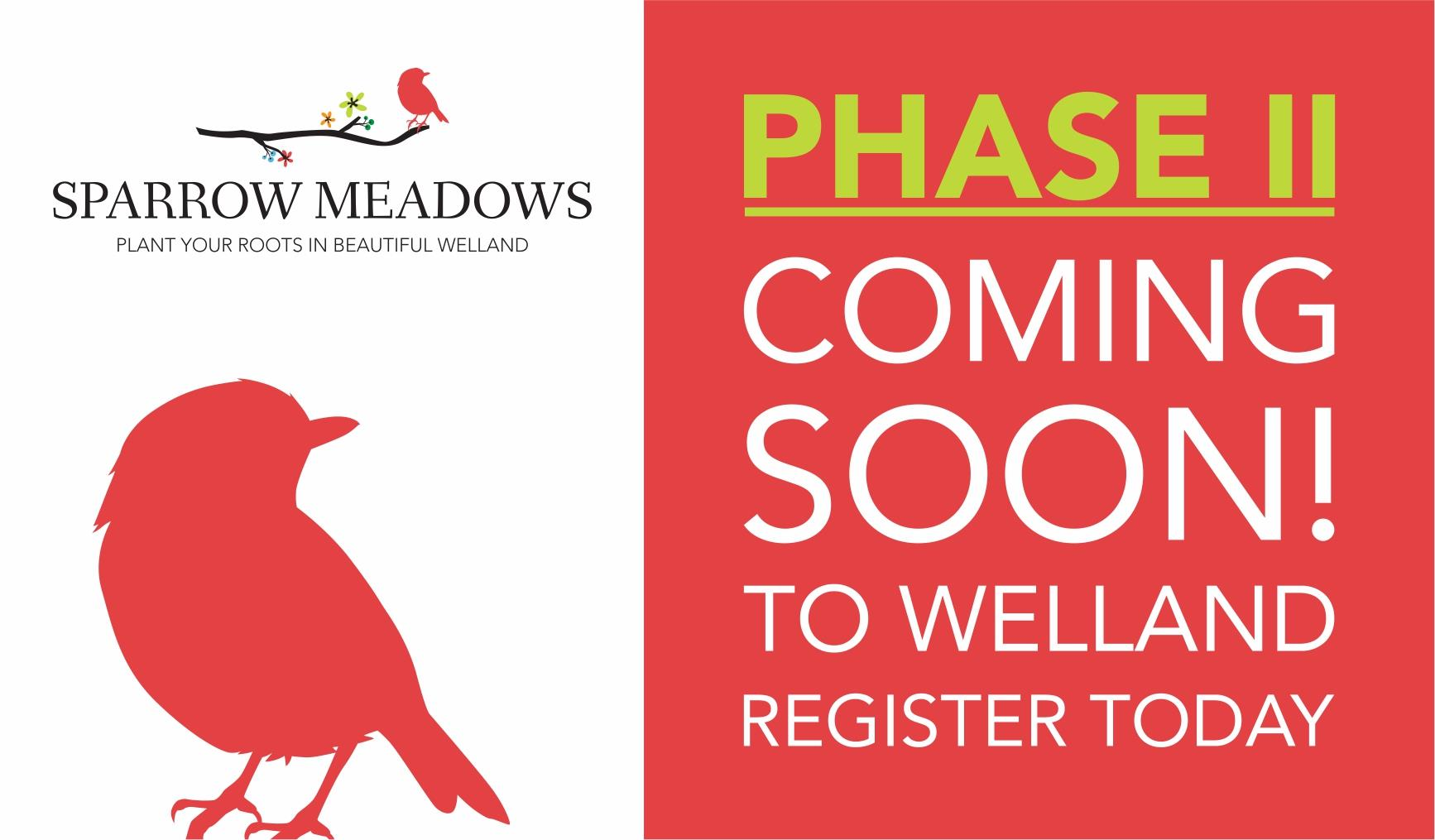 Sparrow Meadows Towns & Homes Phase 2 Welland