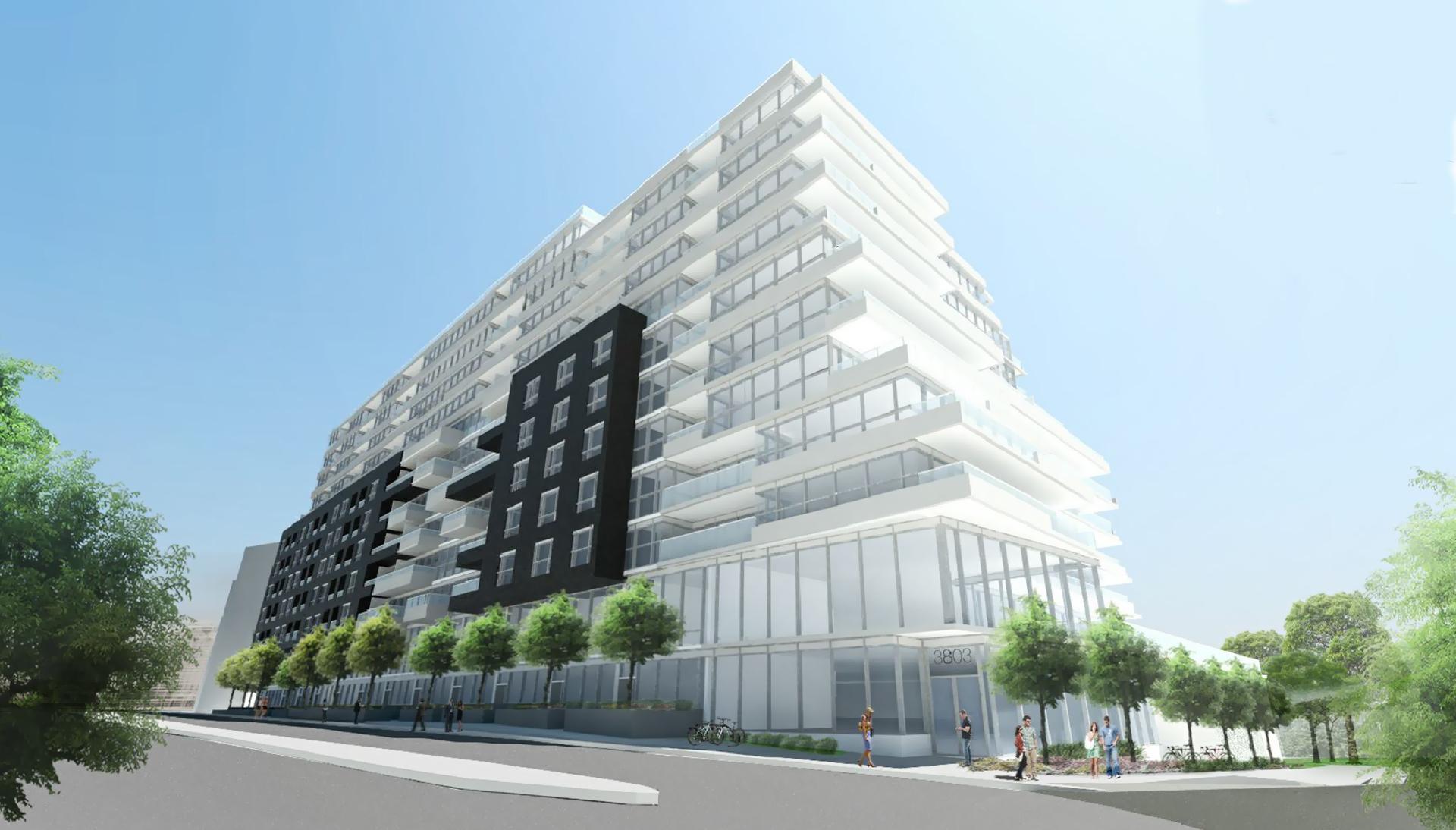 3775 Dundas Street West Condos Exterior