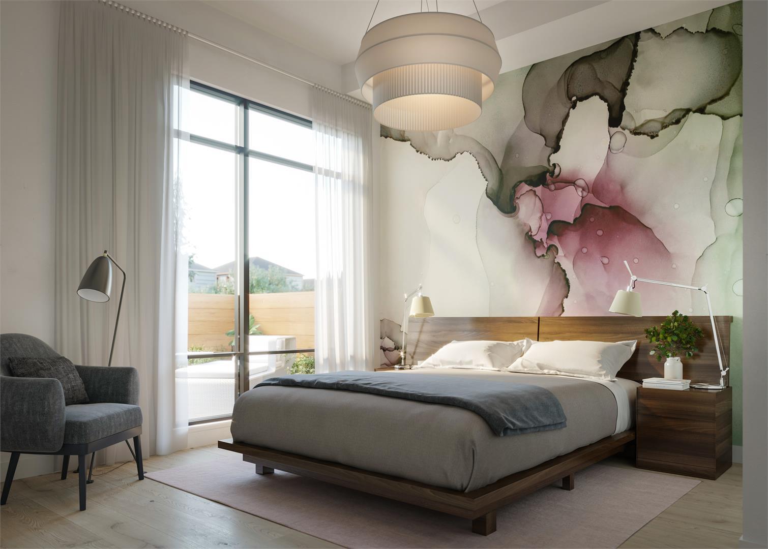 Casa Di Torre Condos Master Bedroom, Hamilton