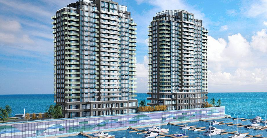 1110 King West Condos Rendering, Kingston