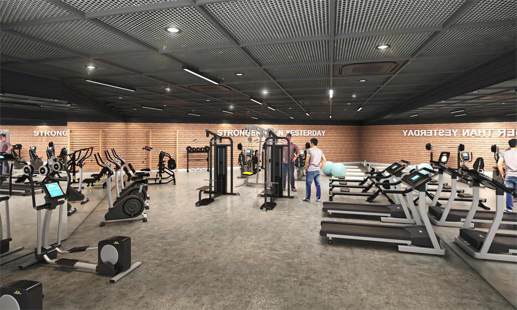 6Thirty Private Residences Gym, Kingston