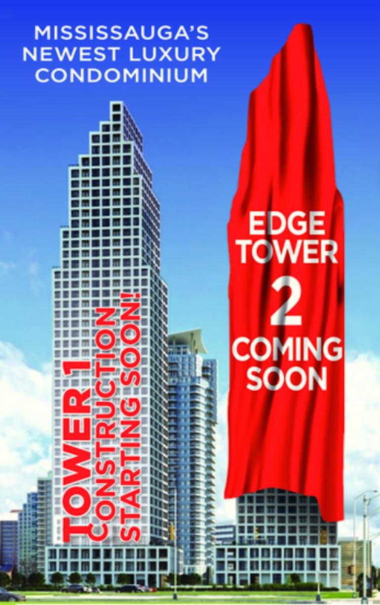 Edge Towers 2 Exterior View