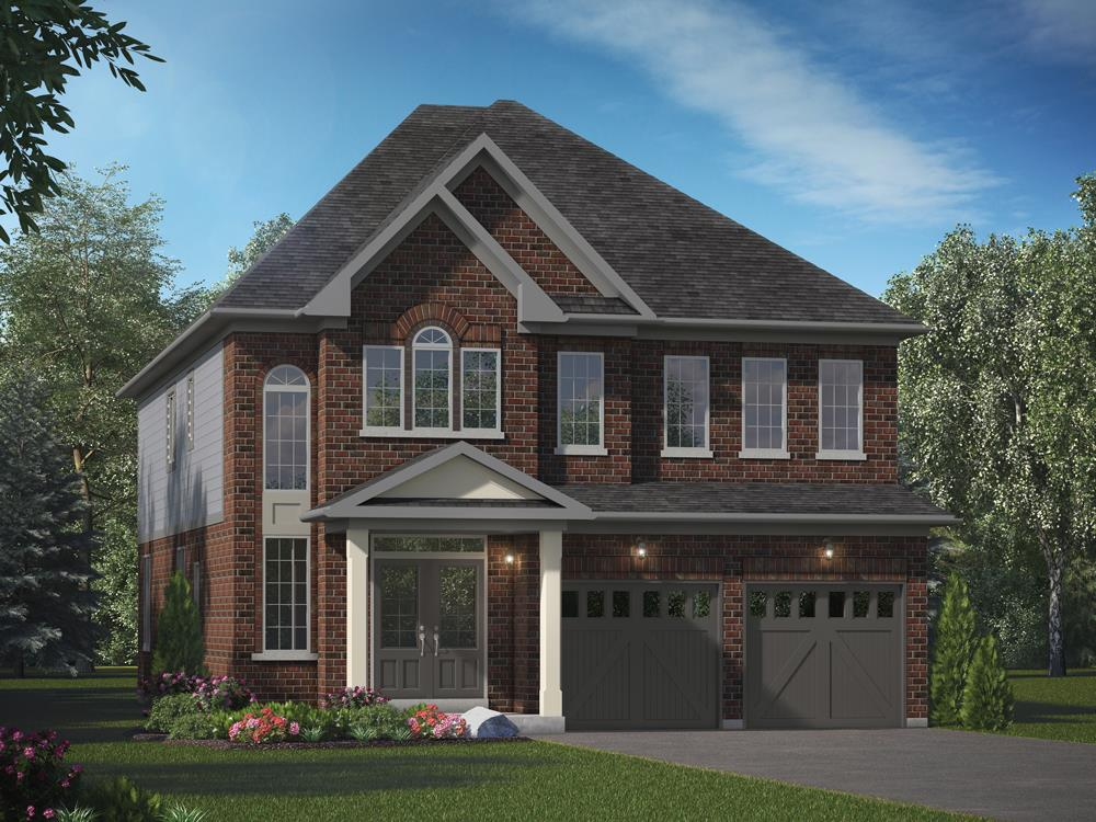 The Brook Phase 2 Exterior Rendering, Oshawa