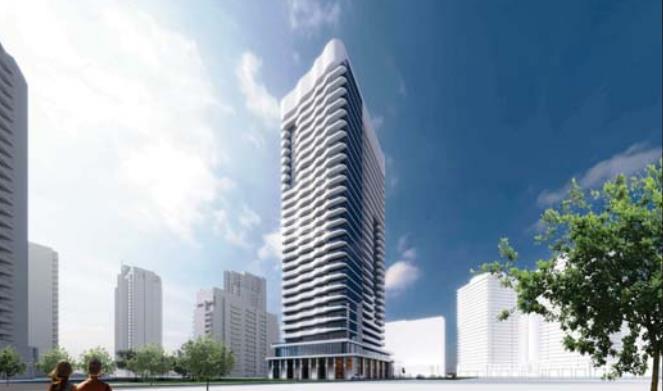15 Holmes Avenue Condos Rendering, Toronto