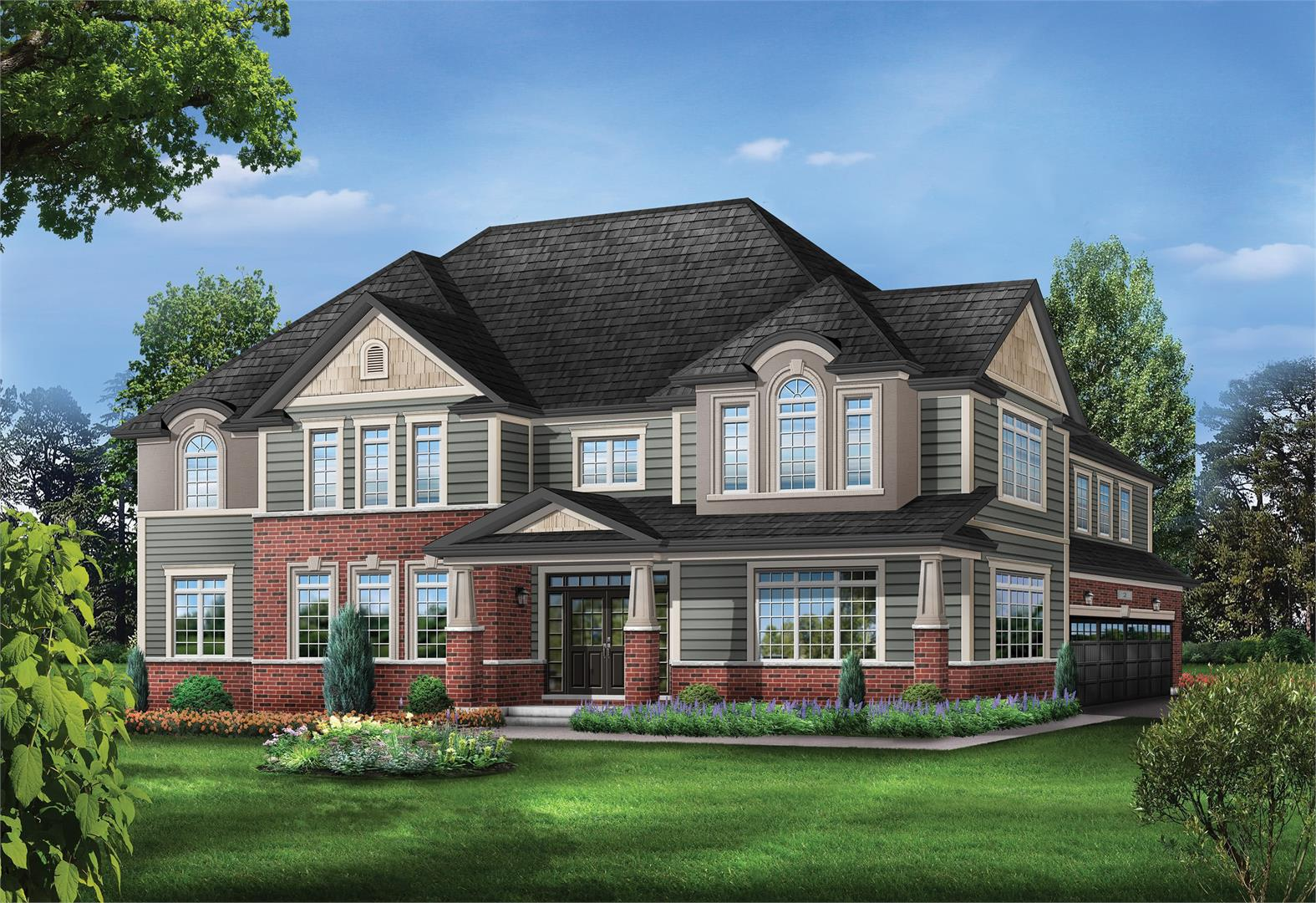 Brantview Heights Towns & Homes Exterior Rendering, Brantford