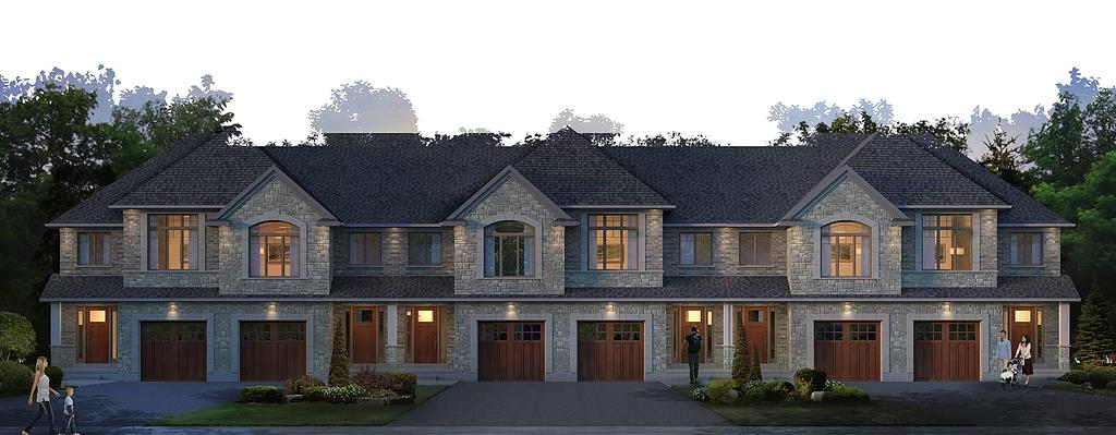 Forest Creek Towns Exterior, Kitchener