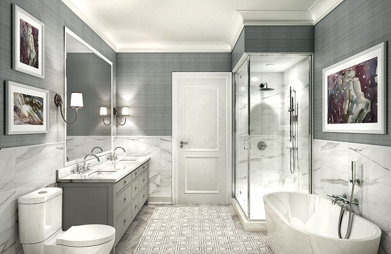 The Hart House Condos Bathroom, Markham