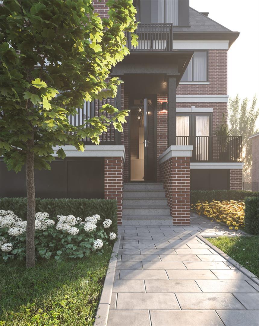 Lytton Living Townhomes Exterior, Toronto