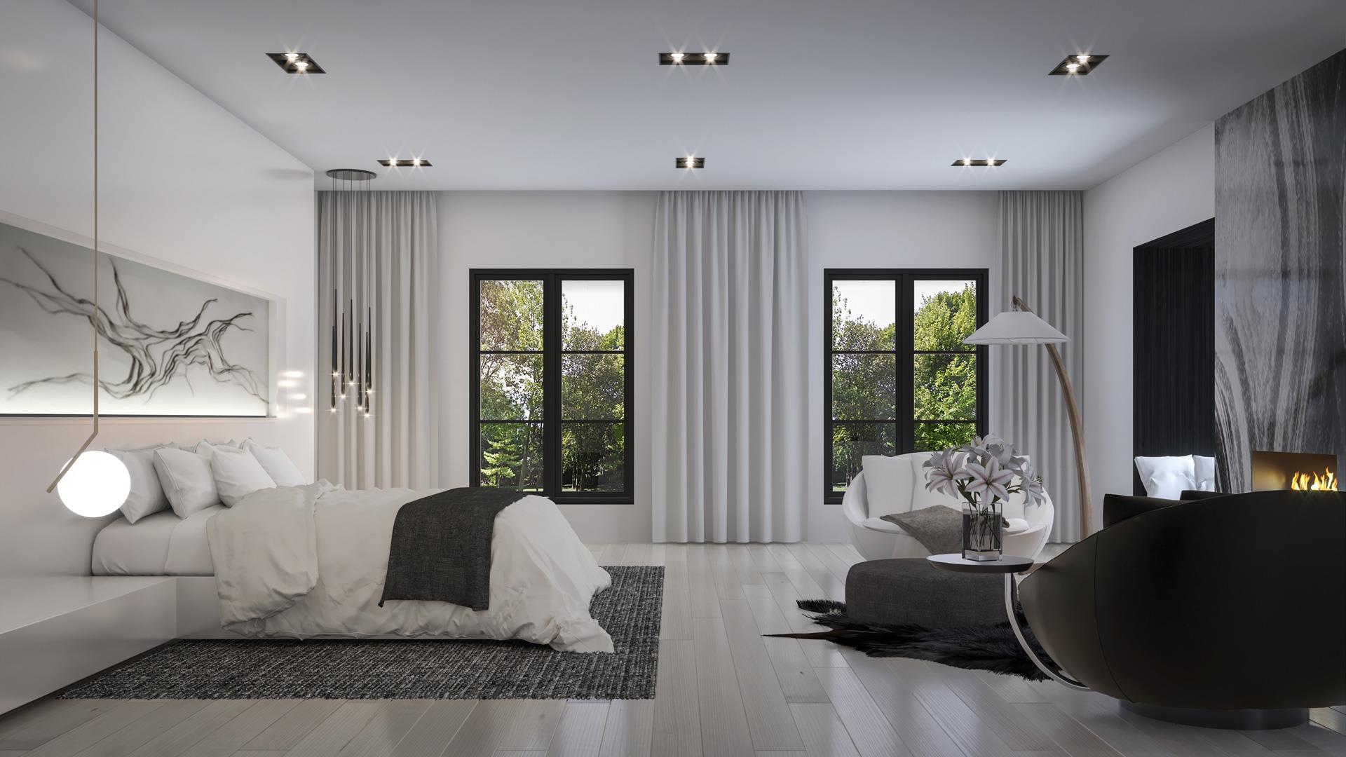 469 Spadina Master Bedroom, Toronto