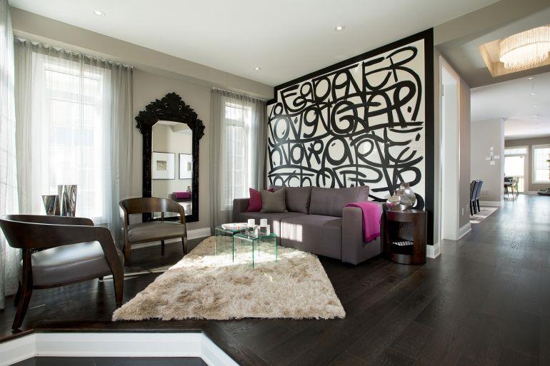 Impressions of Kleinburg Living Room, Vaughan