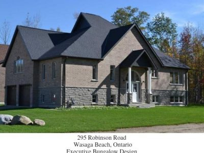 Wasaga Beach Custom Homes