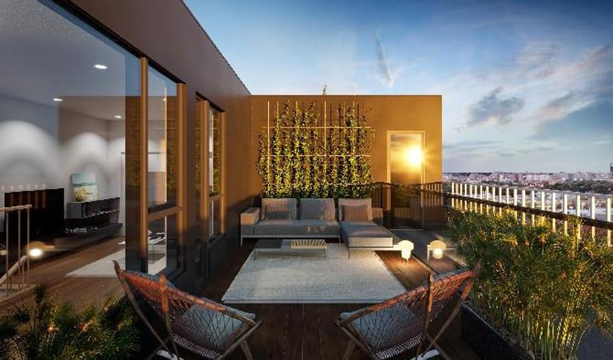 3IX15 de Rouen Condominium Terrace