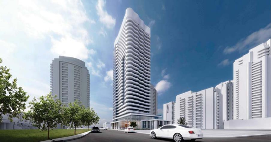 Toronto Azura Condos Rendering