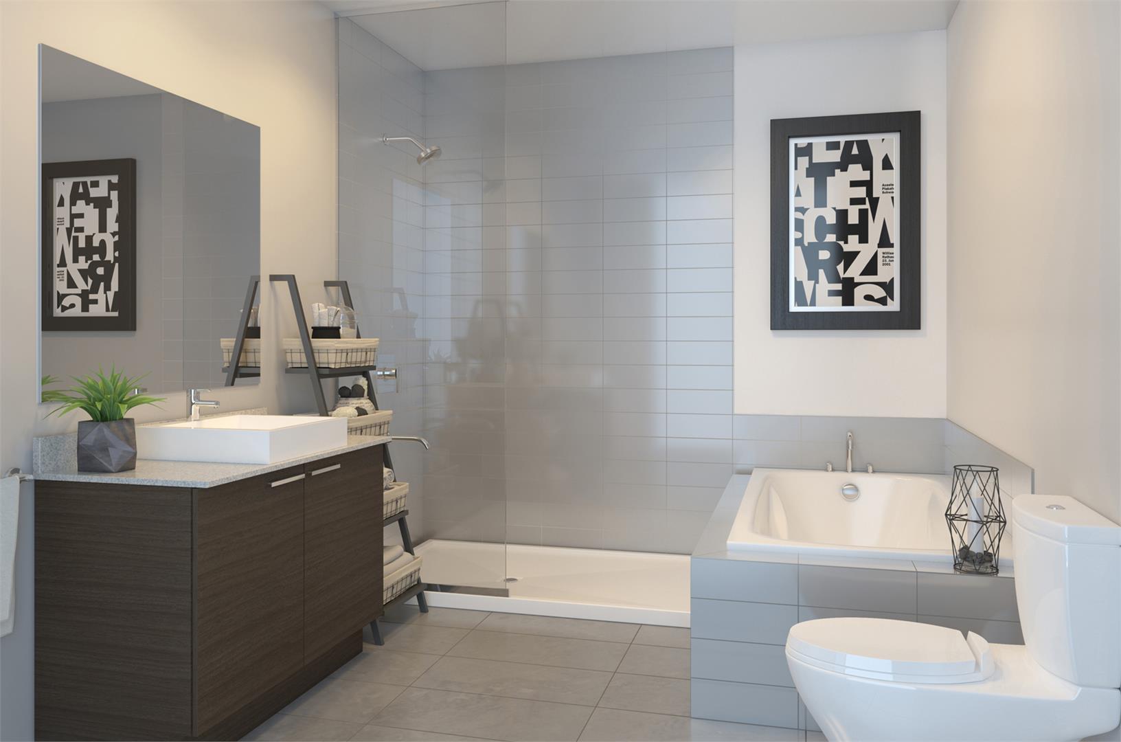 Condos Lespérance Phase 1 Bathroom, Montréal