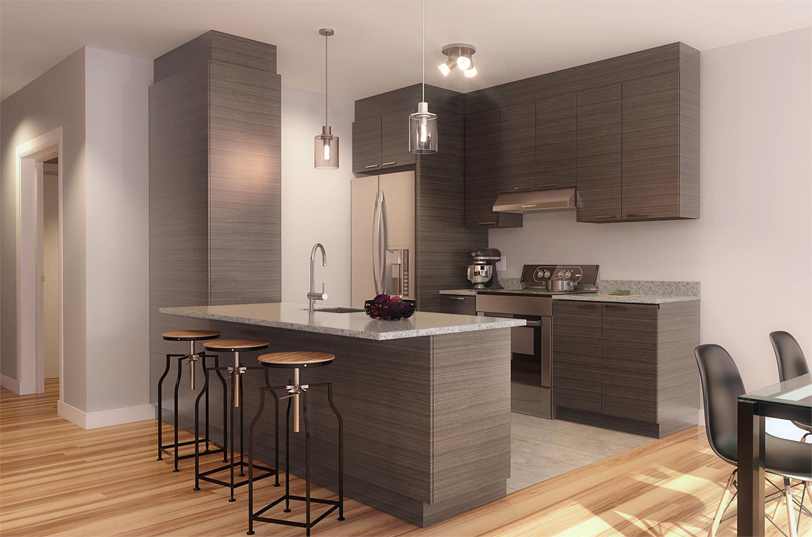 Condos Lespérance Phase 1 Kitchen, Montréal