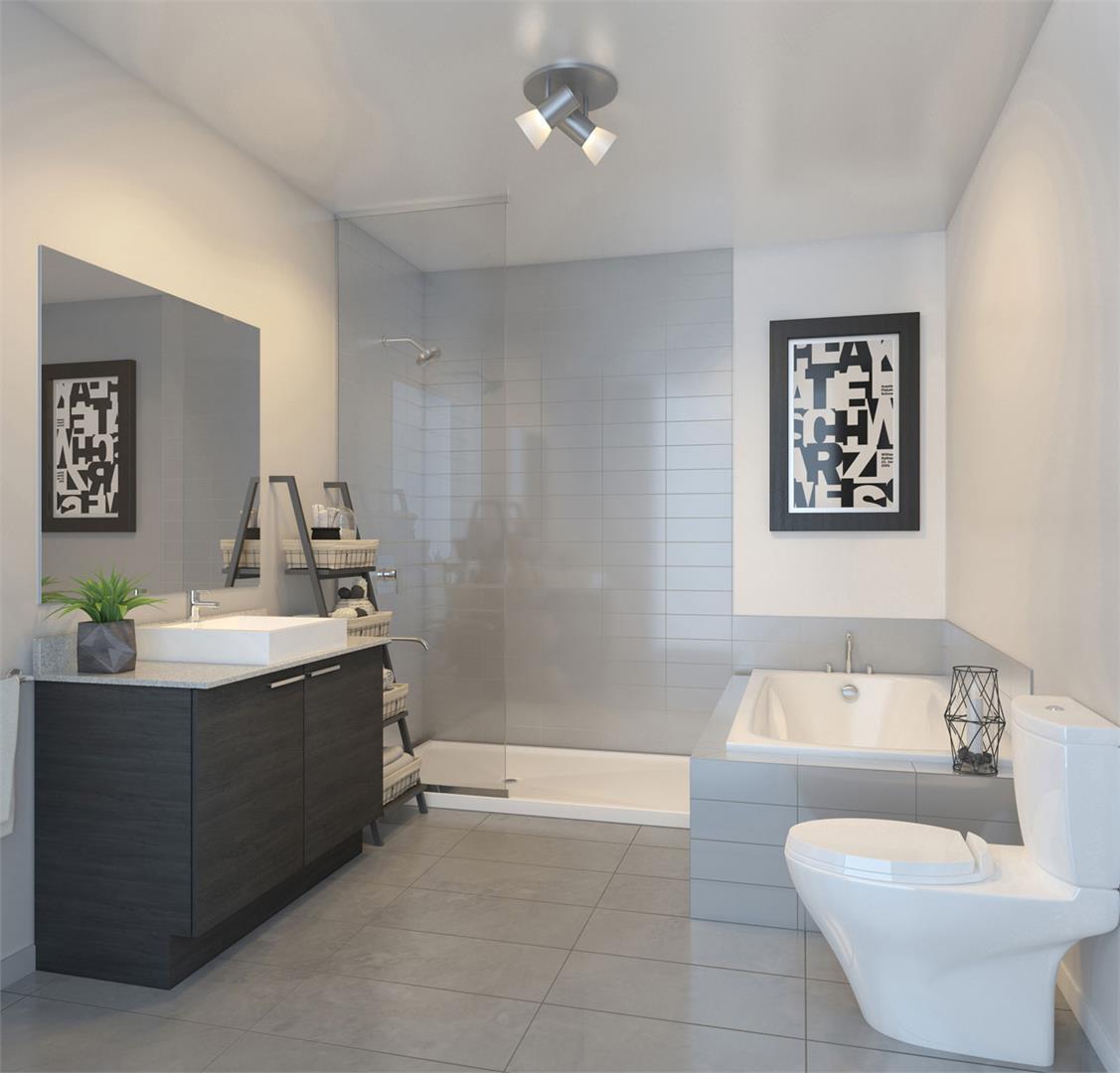 Condos Lespérance Phase 2 Bathroom, Montréal