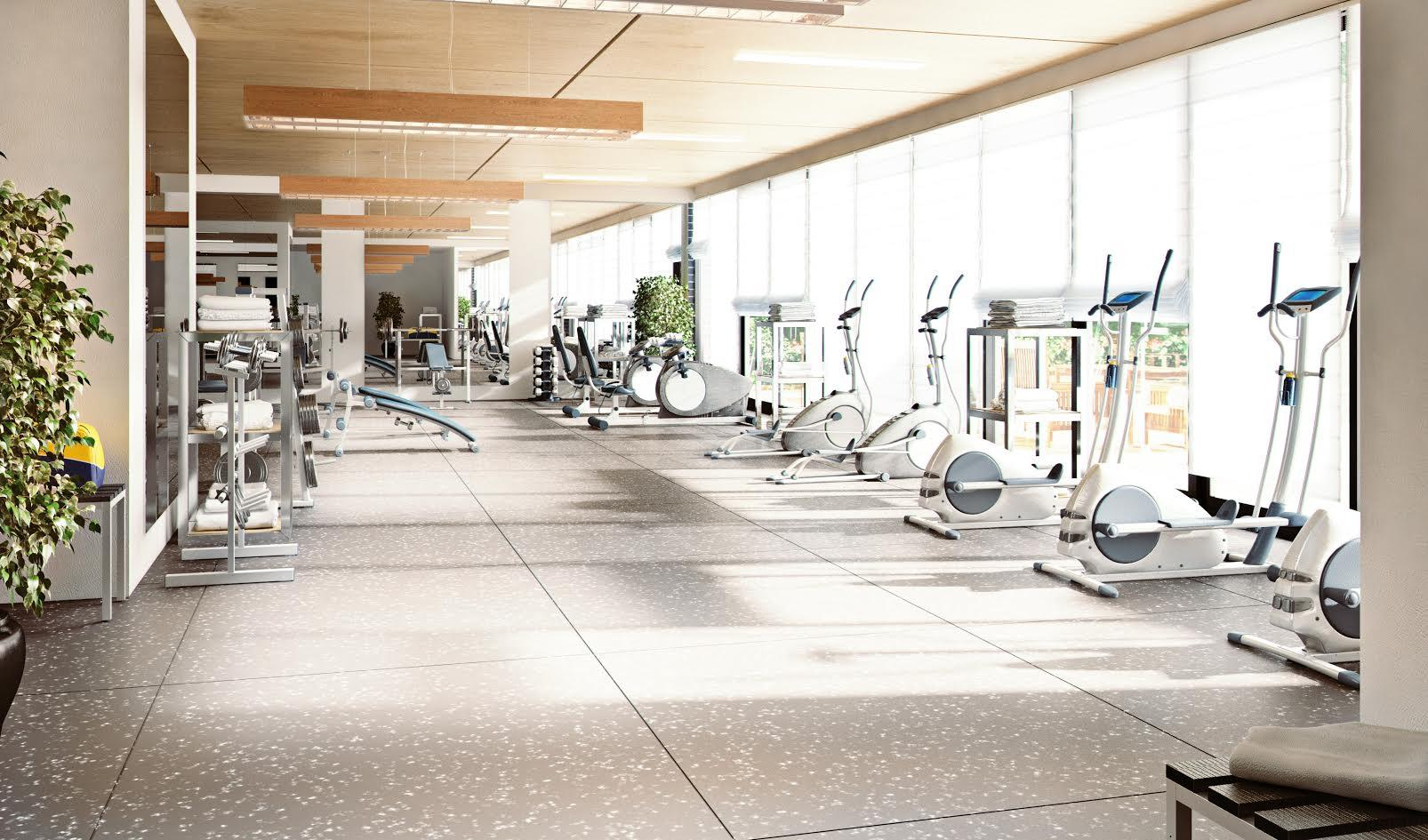 King's Park Condos Gym, Hamilton