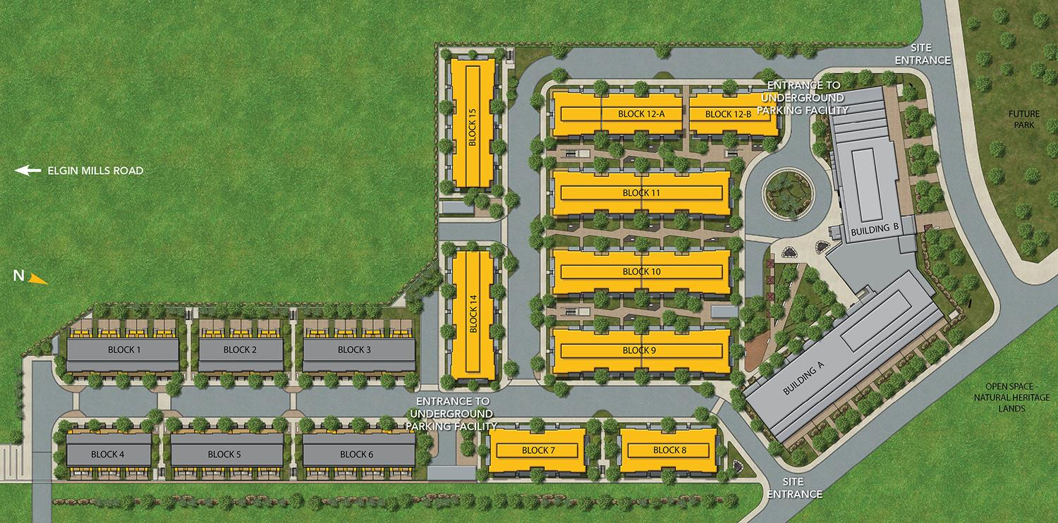 Richmond Hill NEXT Elgin East Phase 2 Site Plan