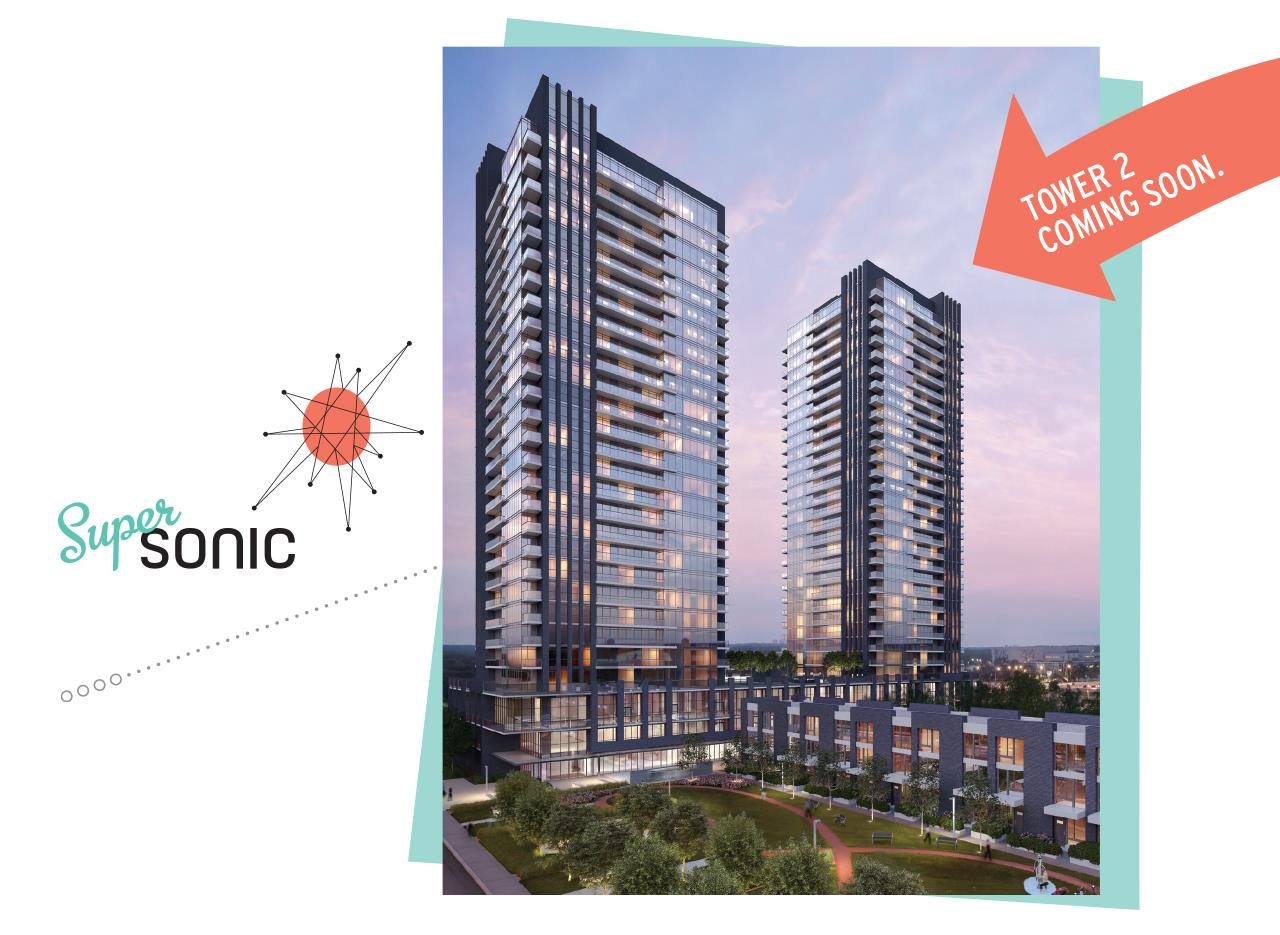 SuperSonic Condos Coming Soon 2, Toronto