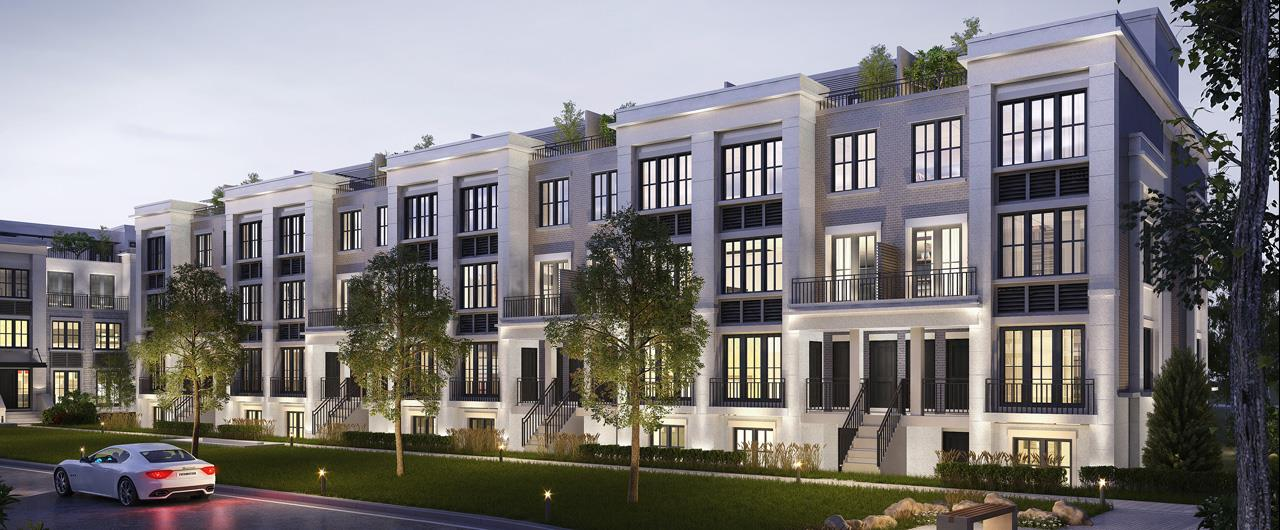 The Reserve at East Mineola Rendering, Mississauga