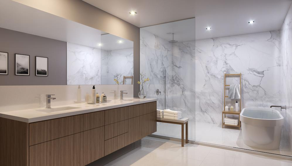 The Vince Bathroom, Toronto