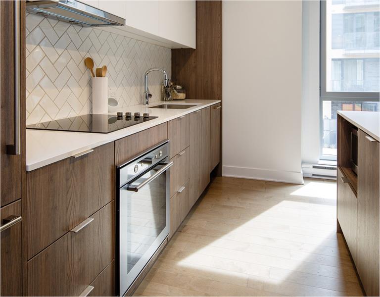 U31 Condos Rosemont - Phases 1-4 Kitchen, Montréal