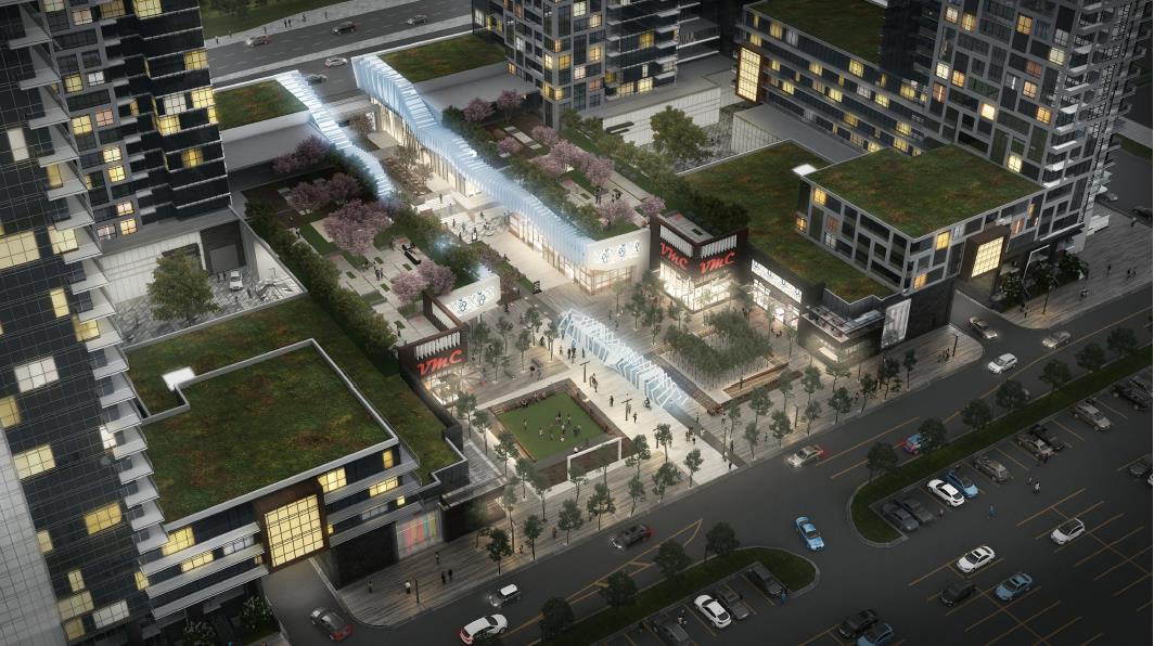 Vaughan Metropolitan Centre Condos Rendering