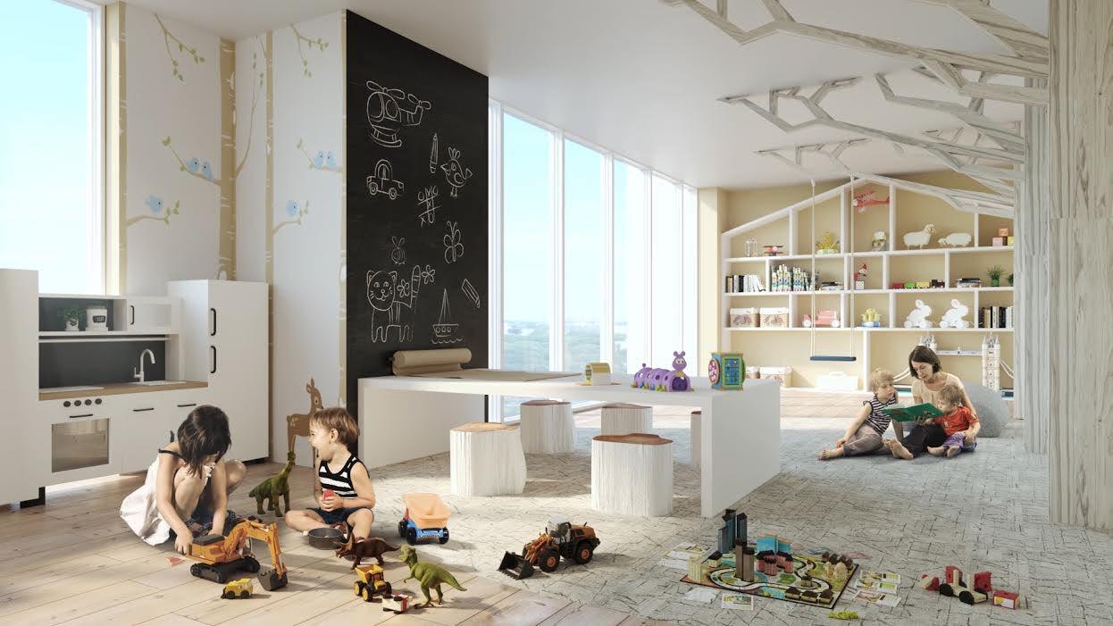 H & W Developments Eight Cedarland Condos Interior