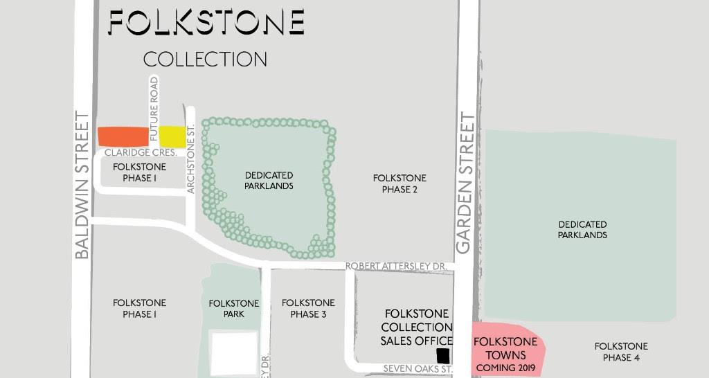 Folkstone Collection Site Plan Whitby