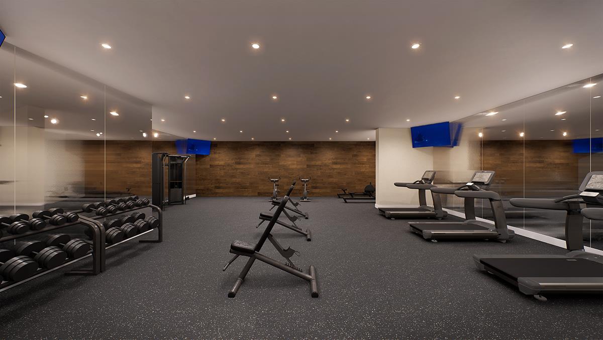 Gordon Square Condos Gym