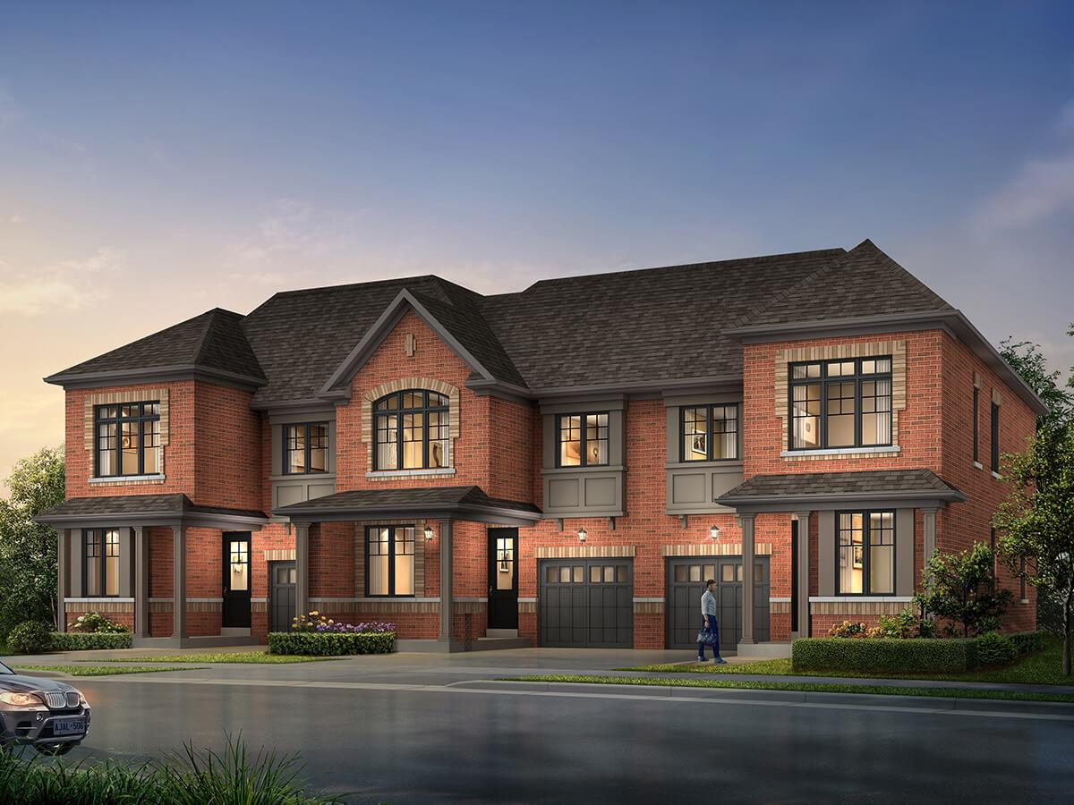 Whitby Hiddenbrook Townhome Elevation