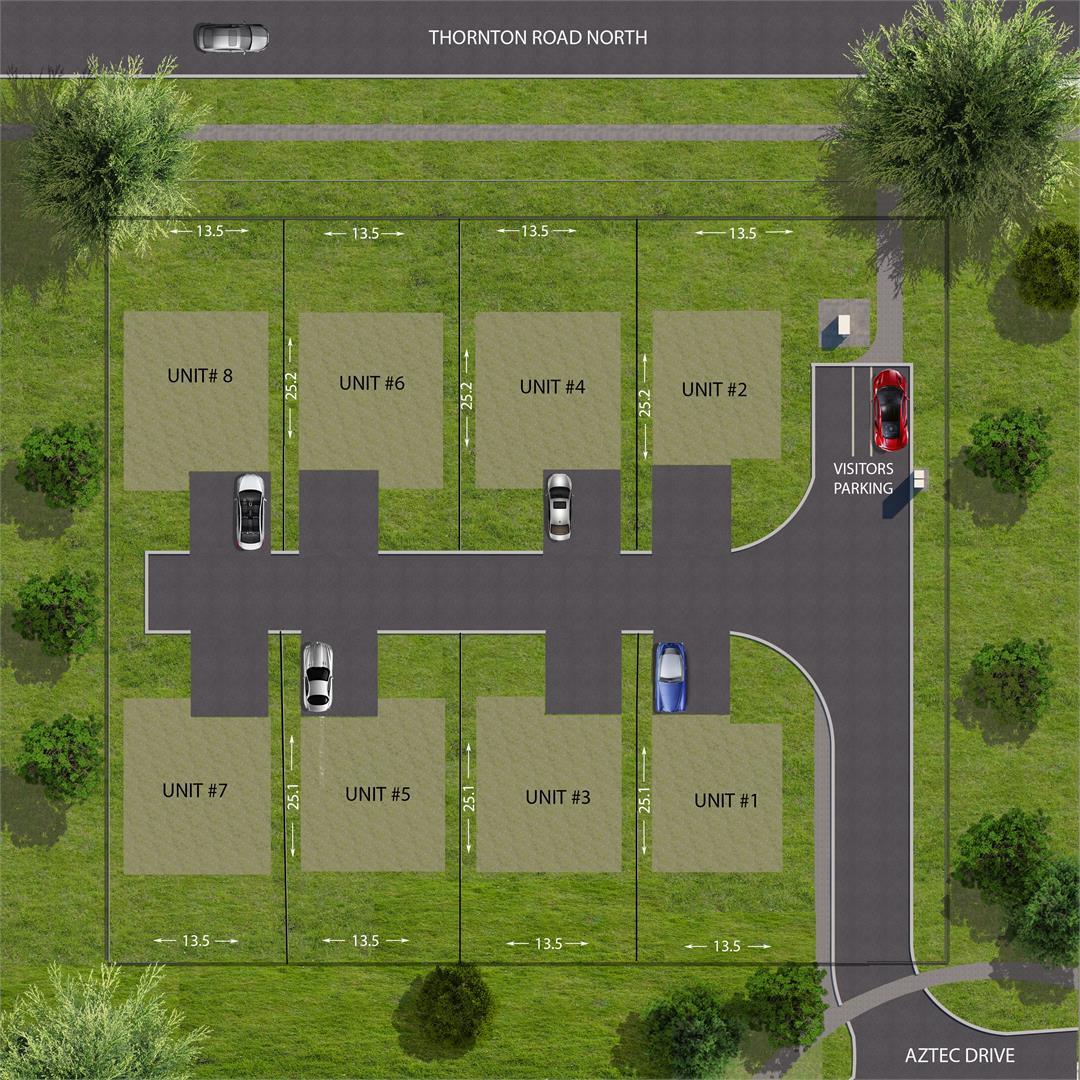 Orchard Lane Site Plan Oshawa