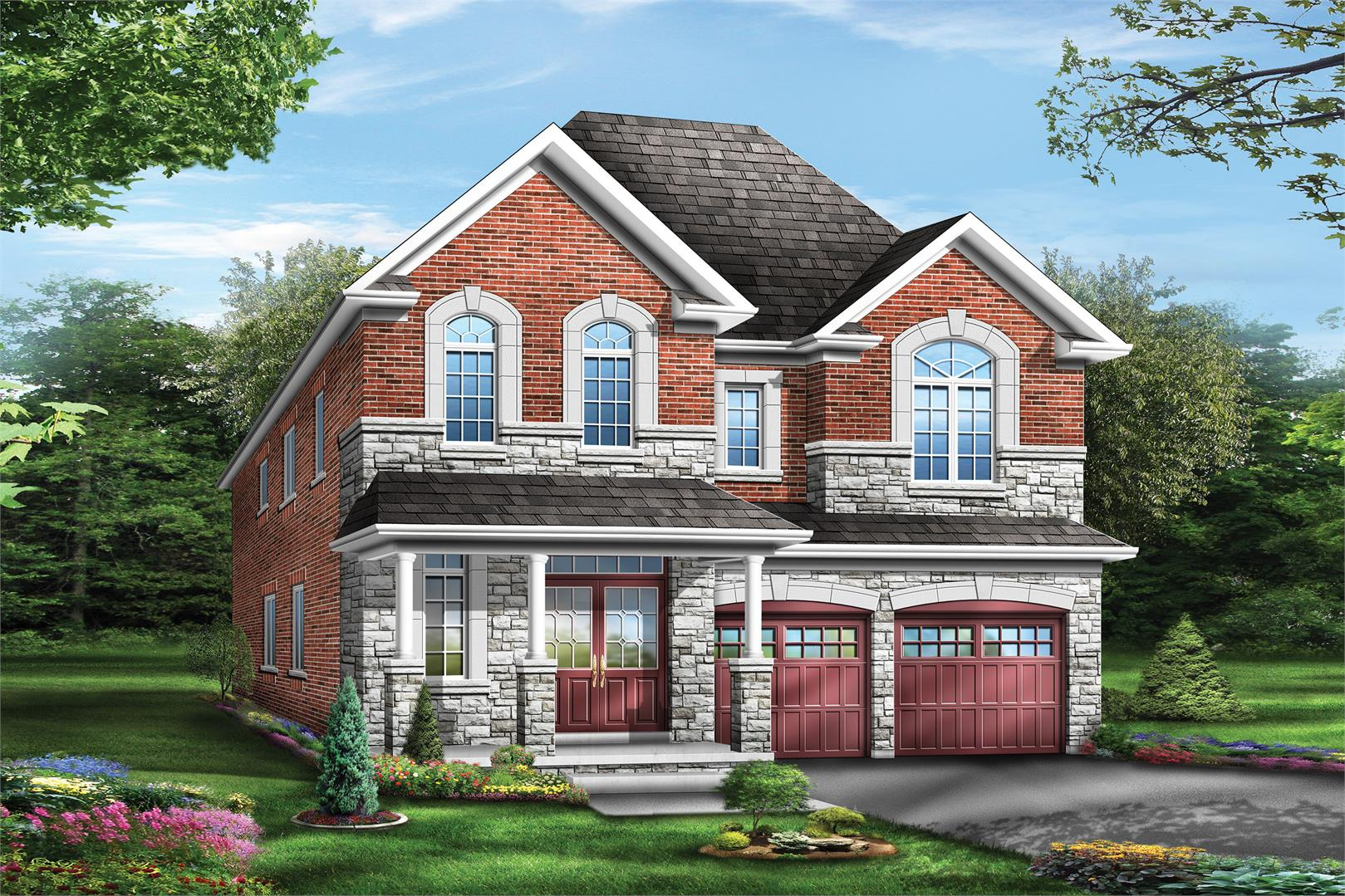 Starlane Homes Saddle Ridge Foster 8, Elev. 2
