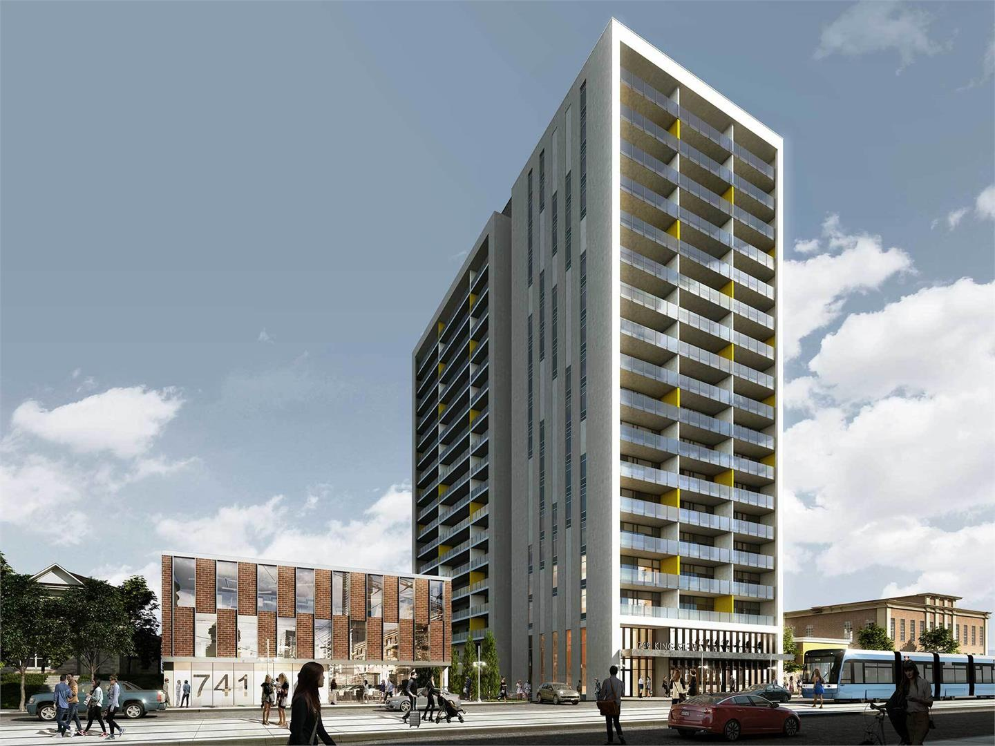 The Hudson Exterior By HIP Developments
