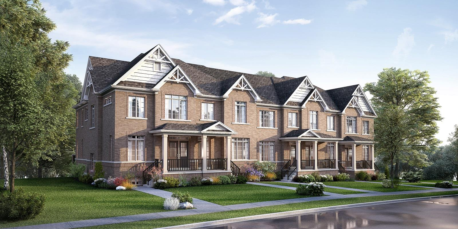 Clarington The Towns at Gracefields Exterior