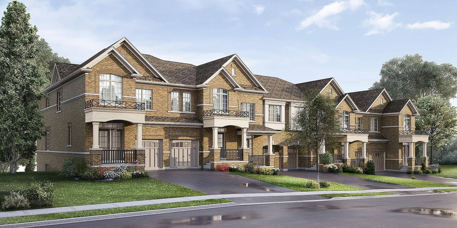 The Towns at Gracefields Clarington